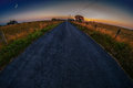 The Road to the Farm Royalty Free Stock Photo