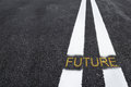 Road to the future Royalty Free Stock Photo