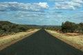 Road to Horizon in Outback Australia