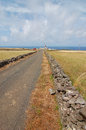 The road to the lighthouse long reach Royalty Free Stock Photography