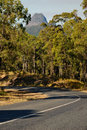 The road to mount Beerwah (Glasshouse Mountains) Stock Photos