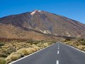 Road to Mount Teide Stock Photos