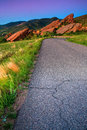 Road To Red Rocks Royalty Free Stock Photo