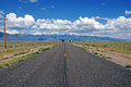 The road to the sangre de cristo range colorado usa rocky mountains driving Stock Photo