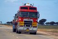 Road transport in Australia Royalty Free Stock Photo