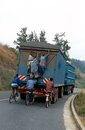 Road transport in Rwanda. Stock Photography