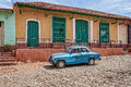 On the road in Trinidad, Cuba