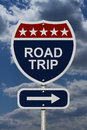 Road Trip Sign Royalty Free Stock Photo