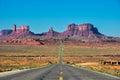 Road trip to Monument Valley, Arizona, USA Royalty Free Stock Photo