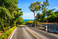 Road Way To The Beach Royalty Free Stock Photography