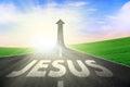 Road way to Jesus