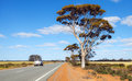 Road in west australian bush Royalty Free Stock Photography