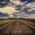 Road With the Word Fearlessness Royalty Free Stock Photo