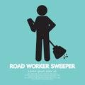 Road Worker Sweeper