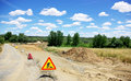 Road works at Portugal. Stock Photography