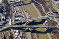 Roads and Bridges Aerial View