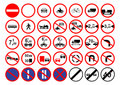 Roads signs Royalty Free Stock Photography