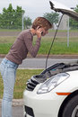 Roadside assistance Royalty Free Stock Images