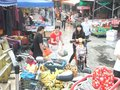 Roadside stalls selling small commodities