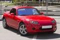 Roadster japanese car mazda mx Stock Image