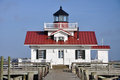 Roanoke Marshes Lighthouse Royalty Free Stock Photography