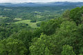 Roanoke Valley in the Springtime Royalty Free Stock Photo