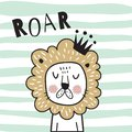 Roar lion Royalty Free Stock Photo