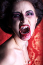 Roar vampire Royalty Free Stock Images