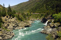 Roaring Meg Dam-Kawarau River Royalty Free Stock Photos