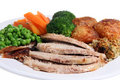 Roast Dinner Royalty Free Stock Photos