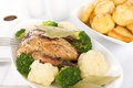 Roast Dinner Royalty Free Stock Photo
