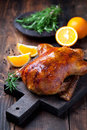 Roast duck Royalty Free Stock Photo