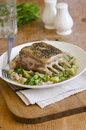 Roast lamb Stock Photography
