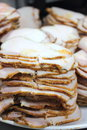 Roast pork slice Royalty Free Stock Images