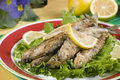 Roast smelt Royalty Free Stock Photography