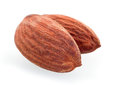 Roasted almond nut Royalty Free Stock Photos