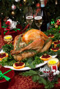 Roasted Christmas Turkey Stock Images