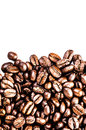 Roasted Coffee Macro Background. Arabica Coffee Beans background Royalty Free Stock Photography