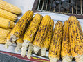 Roasted Corn Cobs Royalty Free Stock Photo
