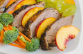 Roasted duck breast salad Stock Images