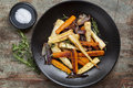 Roasted Root Vegetables Royalty Free Stock Photo