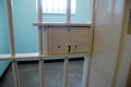 Robben island prison in south africa nelson mandela s jail cell Royalty Free Stock Photo