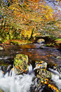Robbers Bridge Stock Photo