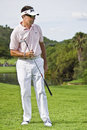 Robert Allenby - Wedge In Hand 01 - NGC2009 Royalty Free Stock Images