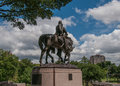 Robert E. Lee Statue Royalty Free Stock Photo