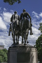 Robert E. Lee Statue Royalty Free Stock Photo