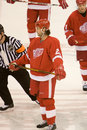 Robert lang detroit red wings Zdjęcia Royalty Free