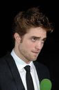 Robert Pattinson Images libres de droits