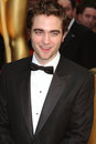 Robert pattinson arriving st academy awards kodak theater los angeles ca february Stock Photos