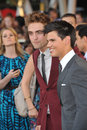 Robert Pattinson,Taylor Lautner Stock Images